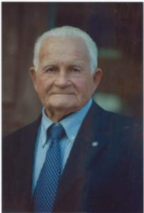 Sabatino Di Cicco, 96 anni, è uno degli ultimi testimoni del bombardamento di Cassino. Qui in un'immagine che ci ha messo a disposizione