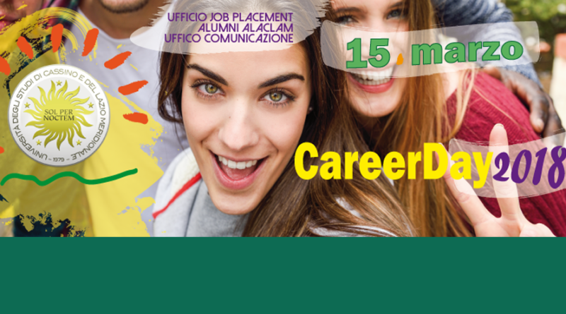 La presentazione del Career Day di Unicas