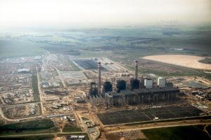Sud Africa. La Centrale a carbone impiega 71 milioni di litri d'acqua/giorno ©FaustoPodavini