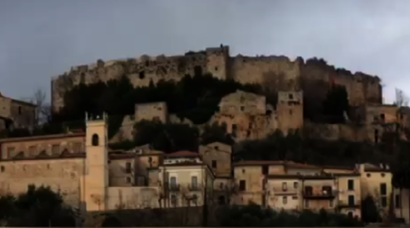 Una vista di Vicalvi, Frosinone
