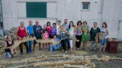 Il gruppo di Intramontes, a Pescolanciano (Is)