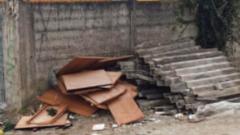 Eternit abbandonato a Cassino (Foto:L'inchiesta)