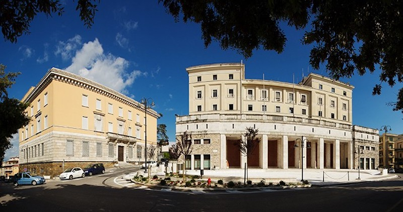 Il Municipio di Frosinone