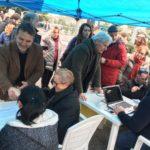 In diretta da Roccasecca, le immagini della manifestazione contro l'ampliamento della discarica
