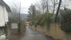 Via Pescarola a Cassino, dopo la rimozione dell'amianto