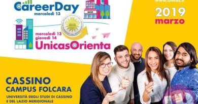 Anche quest'anno Cassinogreen al Career Day