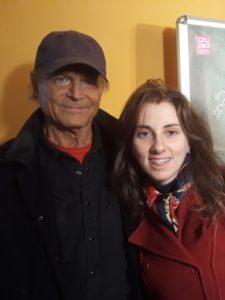 La nostra Valentina Coccarelli insieme a Terence Hill