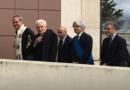 L'arrivo del presidente Sergio Mattarella all'Università di Cassino e del Lazio Meridionale (Foto: pagina Facebook di Uniclam)