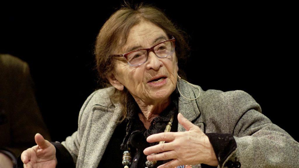 La filosofa ungherese Agnes Heller è uno degli ospiti di punta del festival