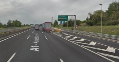 La comitiva di turisti cinesi è stata bloccata al casello autostradale di Cassino