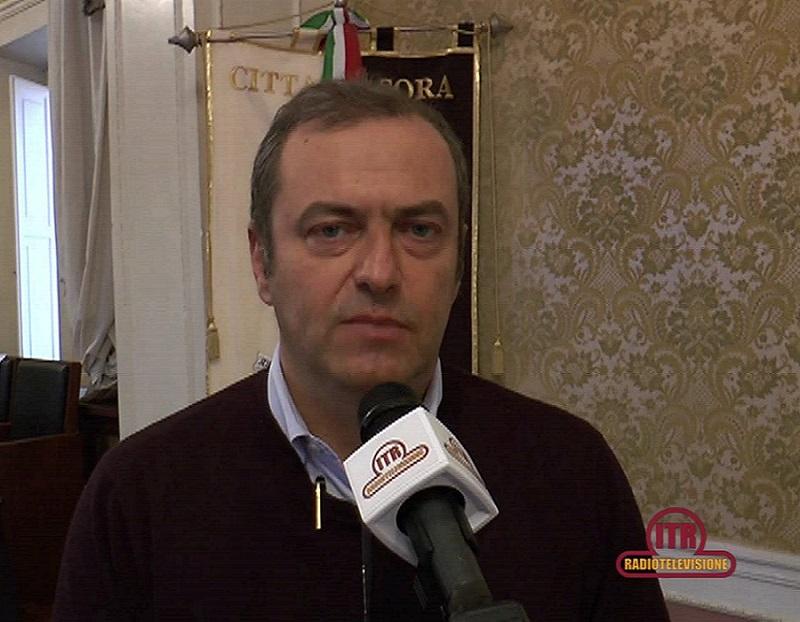 Primo piano di Roberto De Donatis, sindaco di Sora.