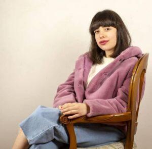 La scrittrice Asia Vaudo