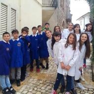 I ragazzi della quinta A Scuola primaria di Sant'Angelo in Theodice