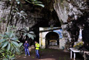 La grotta di San Michele a Camigliano (Foto di Alessandro Santulli)
