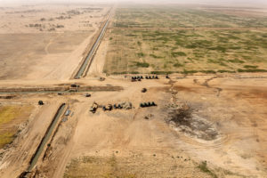 Agrobussines in aree desertiche, il furto di terra come furto d'acqua ©Giada Connestari