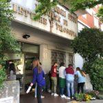 I rappresentanti di Primavera studentesca riqualificano l'aiuola di via Zamosch