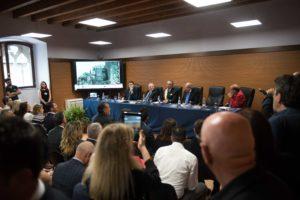 Il convegno durante l'inaugurazione del castello di Mignano Montelungo | Foto di Matteo Ricci