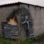 Il murale di Bansky a Port Talbot (Inghilterra)