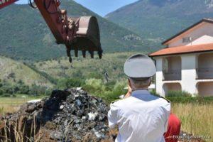 Gli scavi in località Nocione (Foto: Edoardo Grossi)