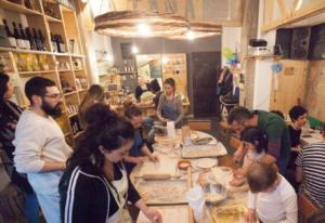 L'interno della Piccola Sosteria a Cassino