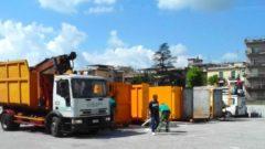 Raccolta dei rifiuti a Cassino