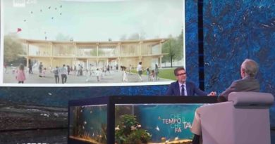 Renzo Piano nella trasmissione di Fabio Fazio