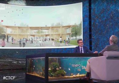 La scuola modello di Sora e Renzo Piano ospiti di Fazio su Rai Due