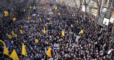 Una manifestazione in Iran dopo l'uccisione di Qasem Soleimani (Fonte: Wikimedia)