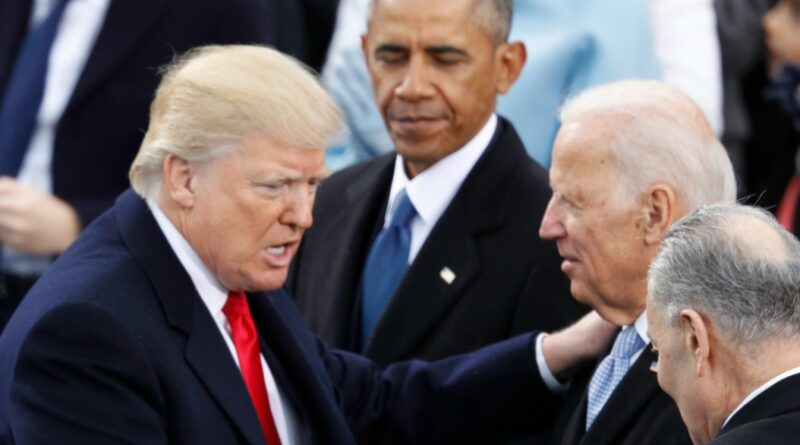 Trump, Biden e Obama