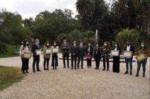 I vincitori e i promotori del Contest Creativo delle Università del Lazio per la Sostenibilità