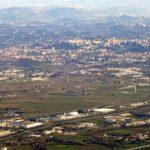 Panoramica della Valle del Sacco
