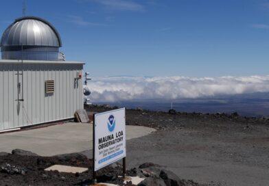 Osservatorio di Mauna Loa del laboratorio di monitoraggio globale di ricerca NOAA per il monitoraggio dell'anidride carbonica in atmosfera